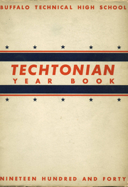 Technical High School - Techtonian Yearbook (Buffalo, NY) online yearbook collection, 1940 Edition, Page 1