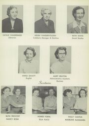 Page 15, 1954 Edition, Woodmere High School - Patches Yearbook (Woodmere, NY) online yearbook collection
