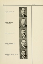 Page 17, 1937 Edition, Yeshiva University High School For Boys - Elchanite Yearbook (New York, NY) online yearbook collection
