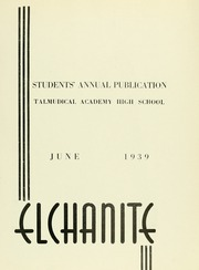 Page 5, 1939 Edition, Yeshiva University High School For Boys - Elchanite Yearbook (New York, NY) online yearbook collection