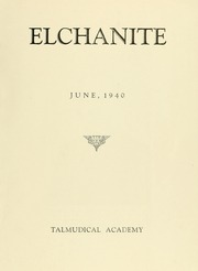 Page 3, 1940 Edition, Yeshiva University High School For Boys - Elchanite Yearbook (New York, NY) online yearbook collection