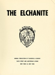Page 7, 1954 Edition, Yeshiva University High School For Boys - Elchanite Yearbook (New York, NY) online yearbook collection