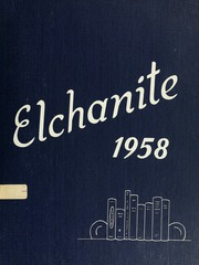 1958 Edition, Yeshiva University High School For Boys - Elchanite Yearbook (New York, NY)