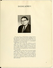 Page 11, 1965 Edition, Yeshiva University High School For Boys - Elchanite Yearbook (New York, NY) online yearbook collection