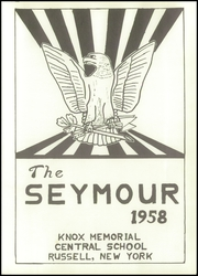 Page 5, 1958 Edition, Knox Memorial High School - Seymour Yearbook (Russell, NY) online yearbook collection