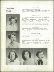 Page 16, 1954 Edition, South Huntington High School - Whitman Yearbook (Huntington Station, NY) online yearbook collection