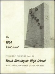 Page 5, 1954 Edition, South Huntington High School - Whitman Yearbook (Huntington Station, NY) online yearbook collection