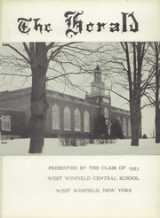 Page 5, 1953 Edition, West Winfield High School - General Yearbook (West Winfield, NY) online yearbook collection