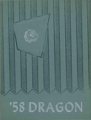 1958 Edition, Draper Central High School - Dragon Yearbook (Schenevus, NY)