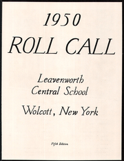 Page 5, 1950 Edition, Leavenworth Central High School - Roll Call Yearbook (Wolcott, NY) online yearbook collection