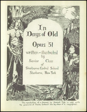 Page 5, 1951 Edition, Sherburne Central High School - Opus Yearbook (Sherburne, NY) online yearbook collection