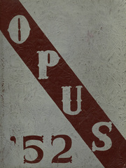 1952 Edition, Sherburne Central High School - Opus Yearbook (Sherburne, NY)
