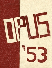 1953 Edition, Sherburne Central High School - Opus Yearbook (Sherburne, NY)