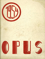 1954 Edition, Sherburne Central High School - Opus Yearbook (Sherburne, NY)