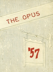 1957 Edition, Sherburne Central High School - Opus Yearbook (Sherburne, NY)