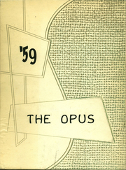 Page 1, 1959 Edition, Sherburne Central High School - Opus Yearbook (Sherburne, NY) online yearbook collection