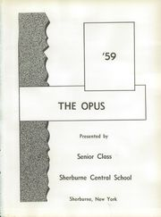 Page 5, 1959 Edition, Sherburne Central High School - Opus Yearbook (Sherburne, NY) online yearbook collection