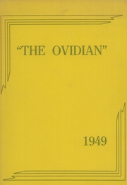 1949 Edition, Ovid Central High School - Ovidian Yearbook (Ovid, NY)