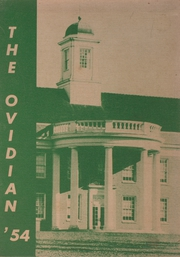 1954 Edition, Ovid Central High School - Ovidian Yearbook (Ovid, NY)