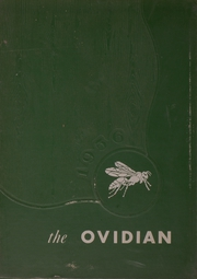 1956 Edition, Ovid Central High School - Ovidian Yearbook (Ovid, NY)