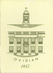 1957 Edition, Ovid Central High School - Ovidian Yearbook (Ovid, NY)
