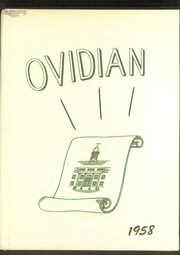 1958 Edition, Ovid Central High School - Ovidian Yearbook (Ovid, NY)
