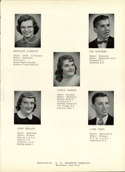 Page 15, 1958 Edition, Ovid Central High School - Ovidian Yearbook (Ovid, NY) online yearbook collection