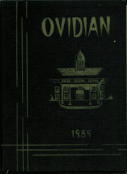 1959 Edition, Ovid Central High School - Ovidian Yearbook (Ovid, NY)