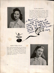 Page 14, 1944 Edition, Bentley High School - Silhouette Yearbook (New York, NY) online yearbook collection
