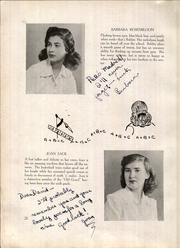 Page 22, 1944 Edition, Bentley High School - Silhouette Yearbook (New York, NY) online yearbook collection