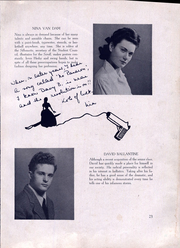 Page 25, 1944 Edition, Bentley High School - Silhouette Yearbook (New York, NY) online yearbook collection