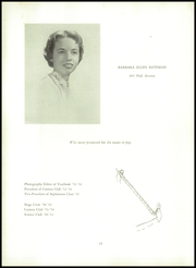 Page 14, 1954 Edition, Spence School - Yearbook (New York, NY) online yearbook collection