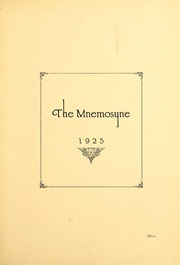 Page 7, 1925 Edition, Huntington College - Mnemosyne Yearbook (Huntington, IN) online yearbook collection