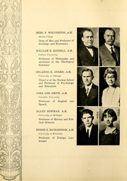 Page 20, 1927 Edition, Huntington College - Mnemosyne Yearbook (Huntington, IN) online yearbook collection