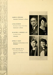 Page 22, 1927 Edition, Huntington College - Mnemosyne Yearbook (Huntington, IN) online yearbook collection