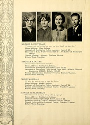 Page 28, 1927 Edition, Huntington College - Mnemosyne Yearbook (Huntington, IN) online yearbook collection