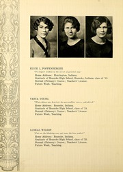 Page 30, 1927 Edition, Huntington College - Mnemosyne Yearbook (Huntington, IN) online yearbook collection