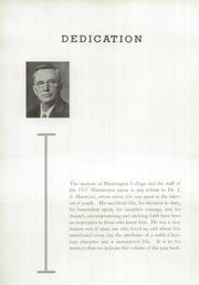 Page 10, 1937 Edition, Huntington College - Mnemosyne Yearbook (Huntington, IN) online yearbook collection