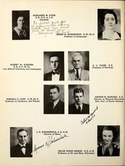 Page 10, 1939 Edition, Huntington College - Mnemosyne Yearbook (Huntington, IN) online yearbook collection