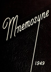 1949 Edition, Huntington College - Mnemosyne Yearbook (Huntington, IN)
