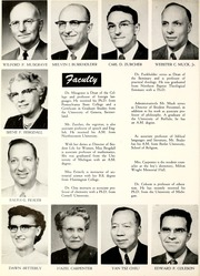 Page 12, 1956 Edition, Huntington College - Mnemosyne Yearbook (Huntington, IN) online yearbook collection