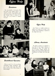 Page 15, 1956 Edition, Huntington College - Mnemosyne Yearbook (Huntington, IN) online yearbook collection