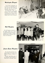 Page 17, 1956 Edition, Huntington College - Mnemosyne Yearbook (Huntington, IN) online yearbook collection