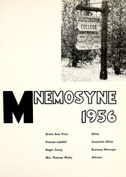 Page 5, 1956 Edition, Huntington College - Mnemosyne Yearbook (Huntington, IN) online yearbook collection