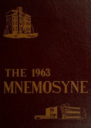 1963 Edition, Huntington College - Mnemosyne Yearbook (Huntington, IN)