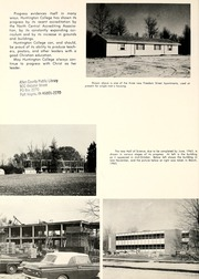 Page 6, 1963 Edition, Huntington College - Mnemosyne Yearbook (Huntington, IN) online yearbook collection