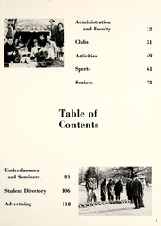 Page 7, 1963 Edition, Huntington College - Mnemosyne Yearbook (Huntington, IN) online yearbook collection