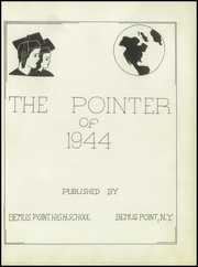 Page 7, 1944 Edition, Bemus Point High School - Pointer Yearbook (Bemus Point, NY) online yearbook collection