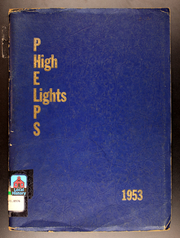Page 1, 1953 Edition, Phelps Central High School - Highlights Yearbook (Phelps, NY) online yearbook collection