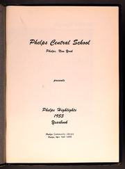 Page 5, 1953 Edition, Phelps Central High School - Highlights Yearbook (Phelps, NY) online yearbook collection
